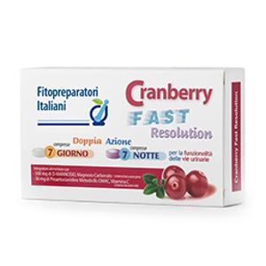 CRANBERRY FAST RESOLU7CPR+7CPR