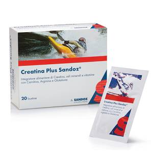 CREATINA PLUS SANDOZ 20BUST
